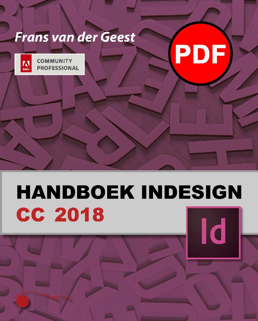Handboek InDesign CC 2018 (PDF)